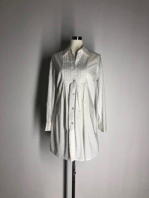 Lange blouse wit Katoen