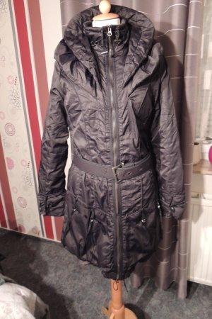Long-Jacke mit Doppelkragen
