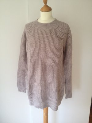 Promod Long Sweater beige-gold-colored polyamide