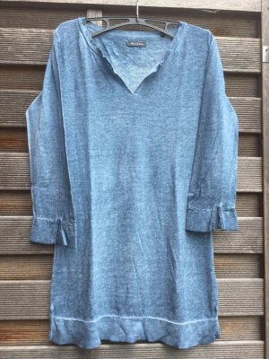 Long-Pulli/ Shirt mit 3/4 Arm Leinen