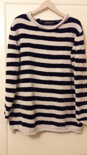 Long Pullover aus Chenille