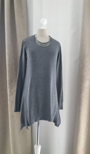 Long Pullover in A-Linie