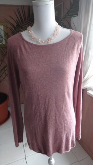 Long-Pullover in Altrosa von Only