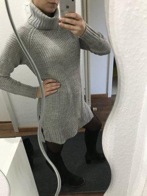 Long-Pullover Minikleid Rollkragen Gr. 36 (S) Wolle