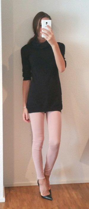 long Pullover mit xxl Kragen gr S