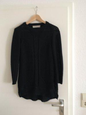 Long Pullover, Oversize schwarz Größe S