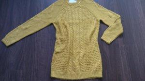 Long Pullover Pulli Minikleid warm Vila by Vero Moda Gr. L/40 Strickpulli