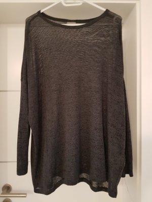 Long Pullover von Vero Moda Gr. S anthrazit *NEU*