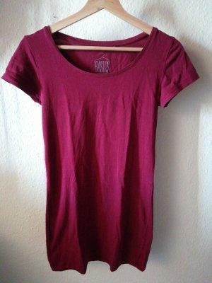 Clockhouse Camisa larga burdeos