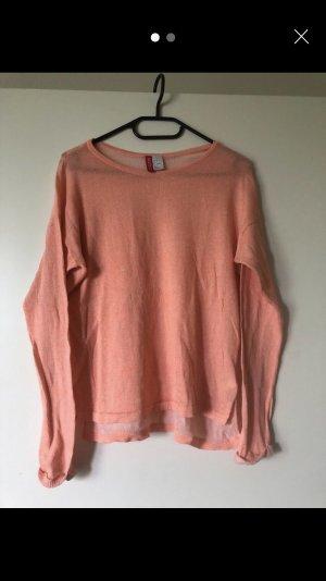 H&M Divided Long Shirt apricot