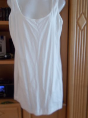 Camisa larga crema