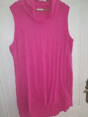 Gina Benotti Vestido estilo camisa magenta