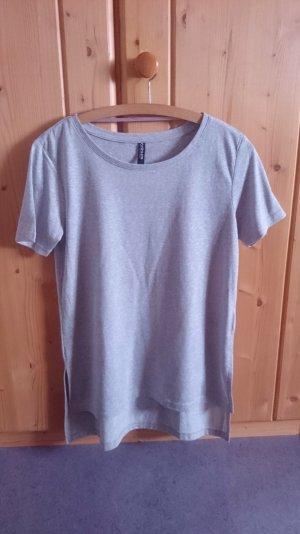 Long Shirt grau 36 S