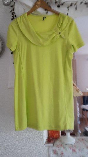 Long shirt in einem sehr schönen gelb/grün
