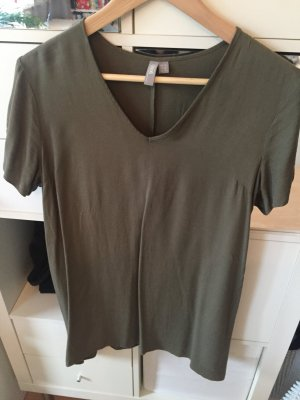 long Shirt Kleid asos khaki