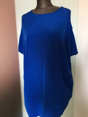 Long Shirt Minikleid Tunika Gr 40 M von Zsrau Royalblau