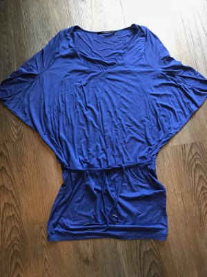 Expresso Camisa larga azul