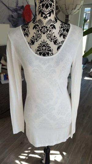 Linea Tesini Lang shirt wit