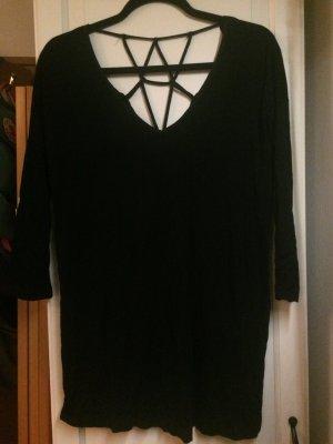 Long Shirt von Urban Outfitters mit geknotetem Rücken Sparkle & Fade