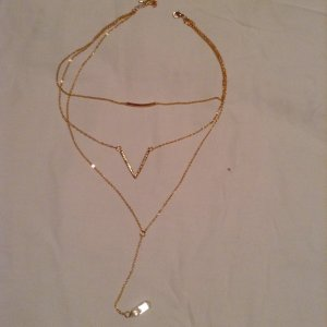 Long Stone Necklace!