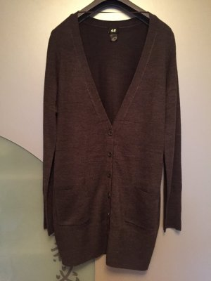 Long Strick-Cardigan M