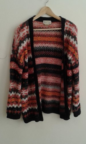 Long sweater with different colors