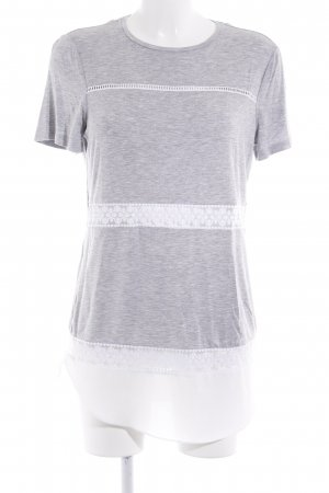 Long Tall Sally T-Shirt weiß-hellgrau Casual-Look