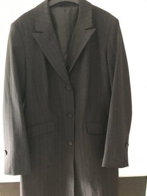 Long vintage blazer in black