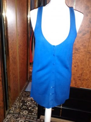 Heine Long Knitted Vest neon blue