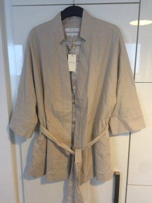 Longblazer Jacke beige Opus Größe 36 someday neu