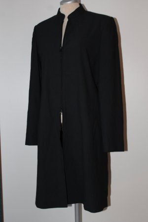 Longblazer Premium Collection Mantel Eyecatcher Gr. 36 38 S M schwarz knielang