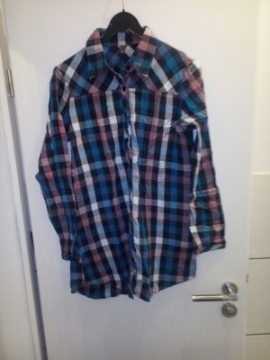 Longbluse Bluse Only L karriert