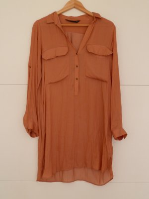 Longbluse Blusenkleid Shirt Oversize Zara Größe M