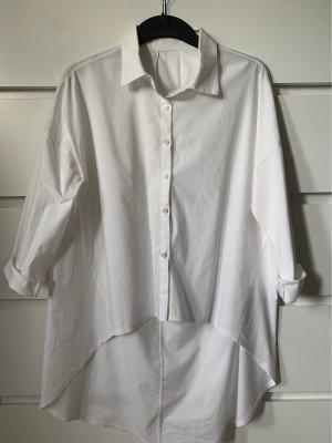 Blusa larga blanco