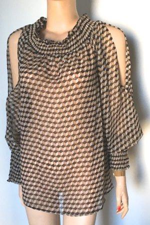Concept Reserved Carmen Blouse multicolored mixture fibre