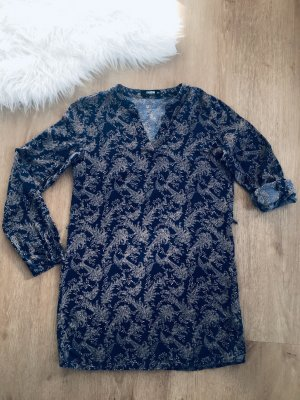 Longbluse mit Muster