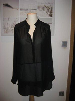 Summum Blusa larga negro-azul oscuro