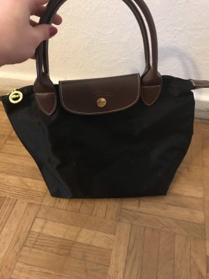 Handbag black-brown