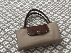 Longchamp Sac Baril beige clair