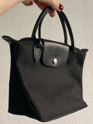 Longchamp, black on black
