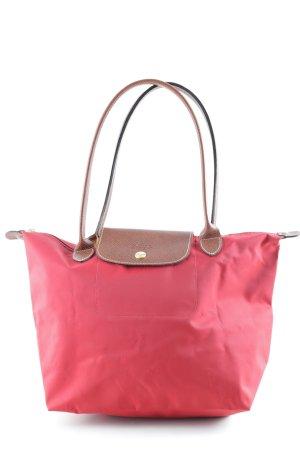 Longchamp Frame Bag red elegant