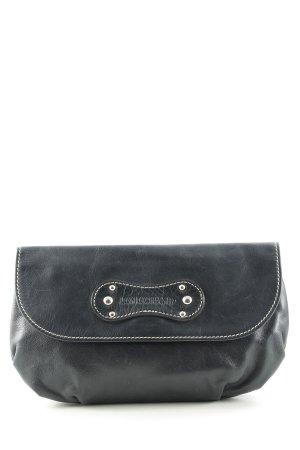 Longchamp Clutch donkerblauw elegant