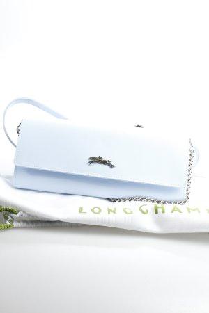 Longchamp Clutch himmelblau Eleganz-Look