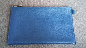 Longchamp Clutch Make-up Täschchen blau