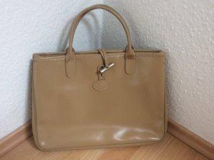 Longchamp creame farbe tasche