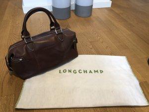 Longchamp Borsa da bowling marrone