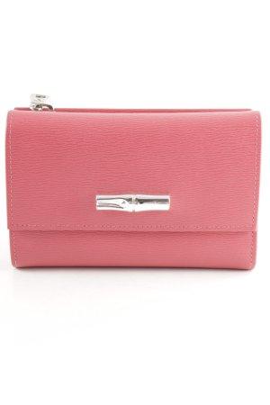 Longchamp Geldbörse magenta-silberfarben Street-Fashion-Look