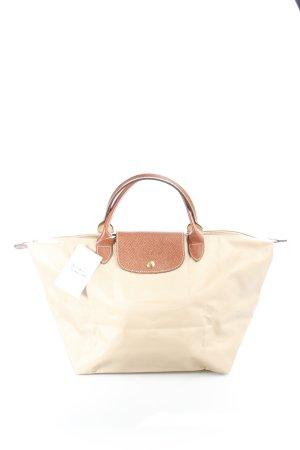 Longchamp Handtasche beige-braun sportlicher Stil