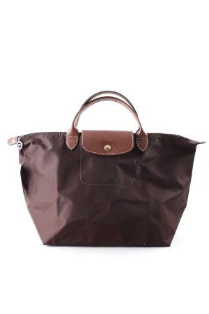 Longchamp Bolso marrón look casual