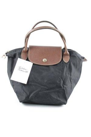 Longchamp Handtasche braun-schwarz klassischer Stil